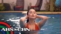 Jessy Mendiola, na-challenge sa kanyang bikini-scene sa iWant movie na 'Mga Mata Sa Dilim' | UKG