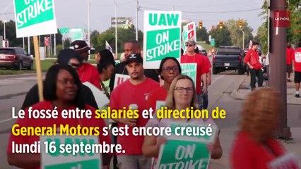 General Motors à l'arrêt, c'est l'Amérique de Trump qui s'enrhume