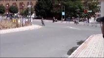 Büyükçekmece'deki yol yarışlarında talihsiz kaza kamerada