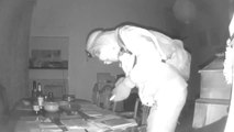 CCTV of Selby burglary
