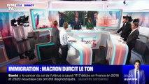 L'édito de Christophe Barbier: Immigration, Macron durcit le ton - 17/09