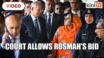 Rosmah's bid to appoint expert to inspect seized jewellery allowed