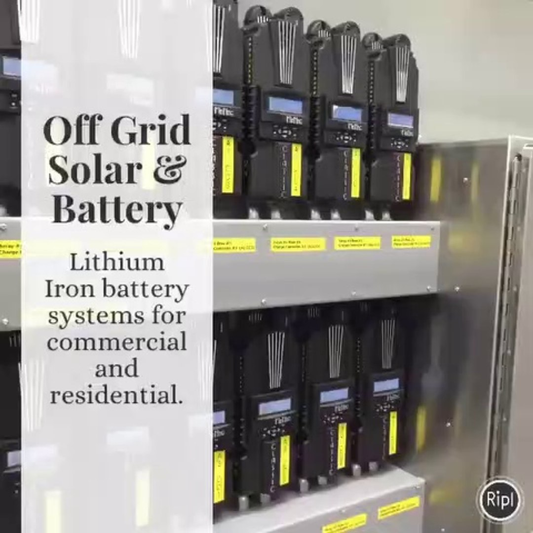 Off-Grid Batteries by Iron Edison