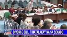 Divorce Bill, tinatalakay na sa Senado