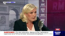 """Marine Le Pen: """"La retraite à 60 ans, oui, c'est défendable"""""""