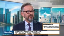 We See the Rising Risk of Protests in Hong Kong, Says Moody's Petch