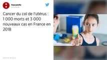 Cancer du col : 1000 morts et 3000 nouveaux cas en France en 2018
