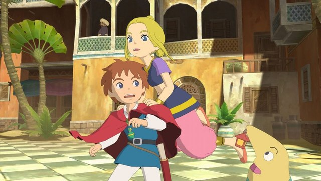 Gameplay de 45 min de Ni No Kuni Remastered