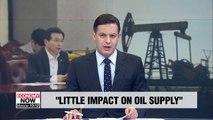 Gov't says no immediate impact for S. Korea's oil imports following Saudi Arabia attacks