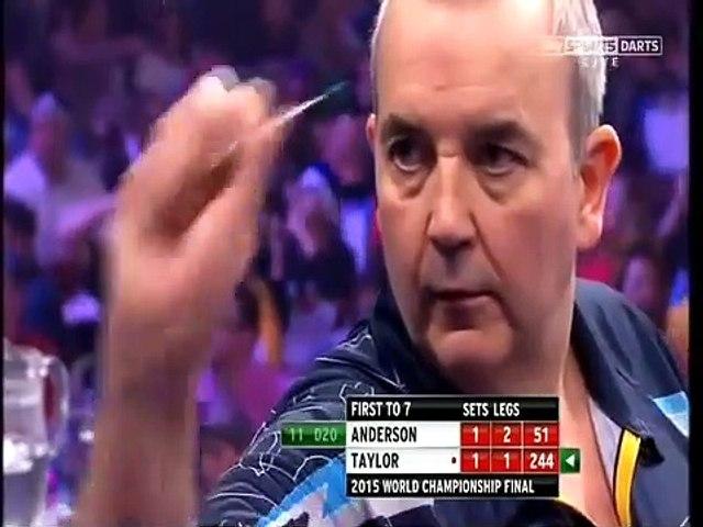 PDC World Darts Championship Final 2015 - Gary Anderson vs Phil Taylor  2of4