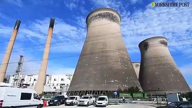Ferrybridge Power Station. 12th September 2019