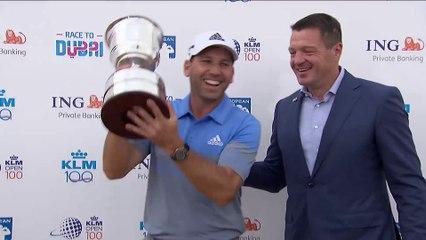 KLM Open: 16e victoire sur l'European pour Sergio Garcia