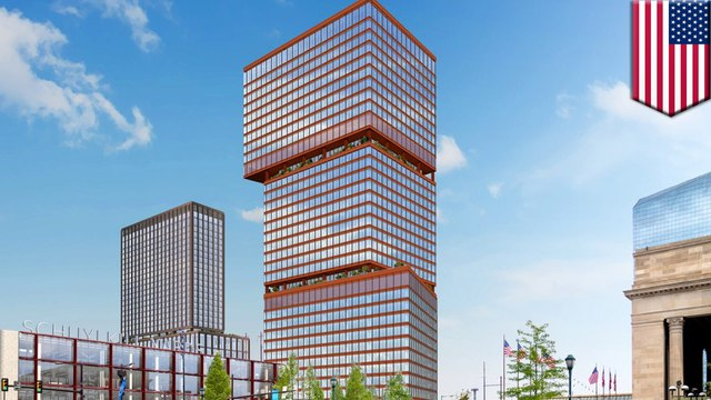 Dual tower architectural designs unveiled for Philadelphia