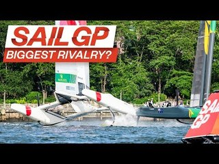 SailGP's Biggest Rivalry? // Australia SailGP Team in New York // Episode 2: Rivals // SailGP