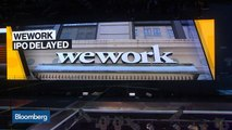 WeWork Delays IPO, Bonds Plunge by Most on Record