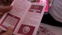 Teknofest'te kadına karşı şiddetin önlenmesi unutulmadı