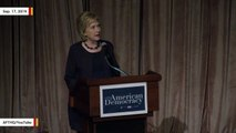 'Crisis In Democracy': Hillary Clinton Talks About Voter Suppression