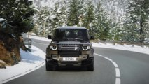 The new Land Rover Defender - Cold testing
