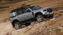 The new Land Rover Defender - Heat testing