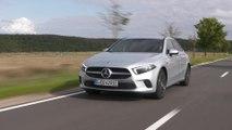 Mercedes-Benz A 250 e Sedan in iridium silver Driving in the country