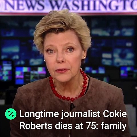 Longtime Journalist Cokie Roberts Dies at 75