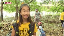 Lily, la «Greta Thunberg» thaïlandaise