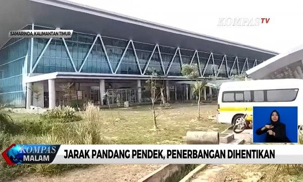 Menhub: 3 Bandara di Kalimantan, Terdampak Kabut Asap