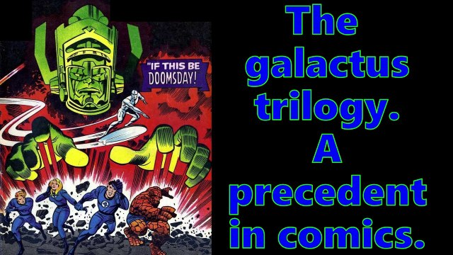 Stan Lee & Jack Kirby debut First appearance of Galactus & First appearance of Silver Surfer