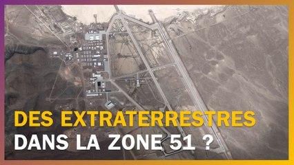 La Zone 51 Cache T Elle Des Extraterrestres