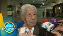 ¡No piensa en el retiro! A Ignacio López Tarso no le pasa su retiro por la mente. | Venga La Alegría