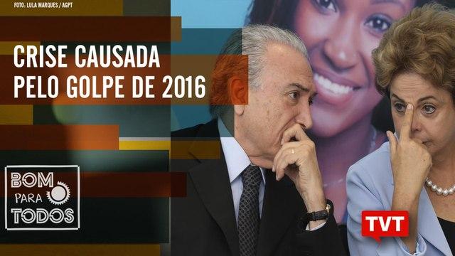 Temer admite golpe contra Dilma Rousseff - Crise causada pelo golpe de 2016 – Bom Para Todos 17.09