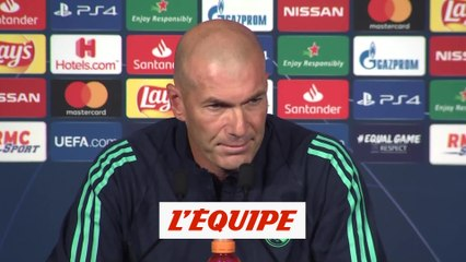 Zidane«Paris est une grande équipe» - Foot - C1 - Real