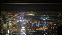 Dubai At The Top of Burj Khalifa Night View  |  At The Top of Burj Khalifa