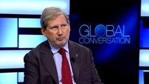 """Le commissaire Johannes Hahn veut """"promouvoir le mode de vie européen"""""""