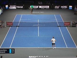 TENNIS : ATP : Metz - Gasquet passe au courage