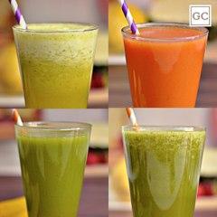 4 sucos saudáveis   Receitas Guia da Cozinha