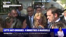 Quatre ministres se sont déplacés à Marseille pour présenter le plan de lutte contre le trafic de drogue du gouvernement