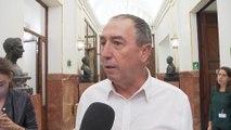 "Baldoví califica al Sánchez de ""irresponsable"""