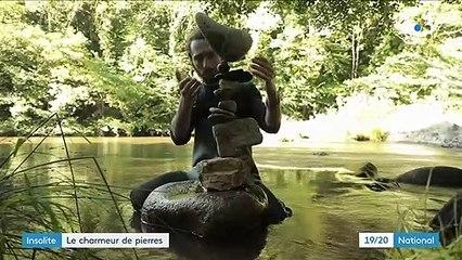 """Le """"stone balancing"""" ou l'art de faire tenir des pierres en équilibre"""