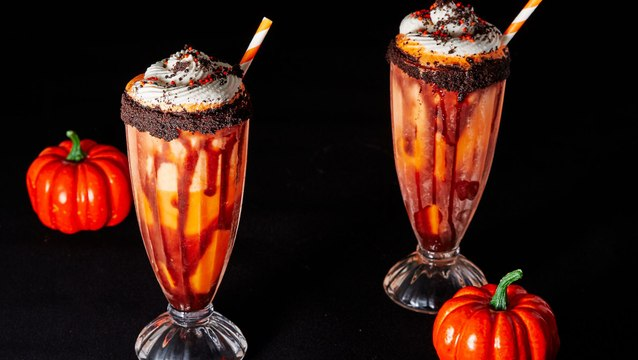 These Screamsicle Shakes Are Scary Delicious