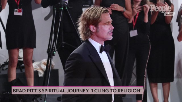 Brad Pitt Says Friend Kanye West's Sunday Service Is 'Really Special'
