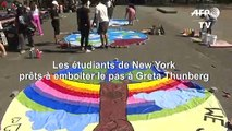 Les jeunes de New York se préparent pour la marche pour le climat du 20 septembre