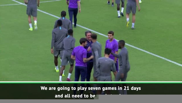 Pochettino challenges Tottenham players ahead of busy month