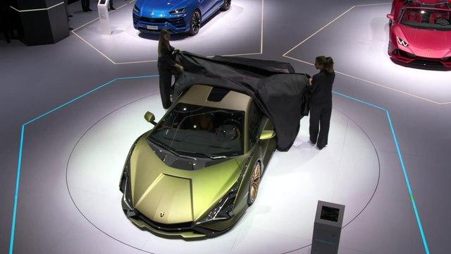 Lamborghini Press Conference at the 2019 Frankfurt Motor Show
