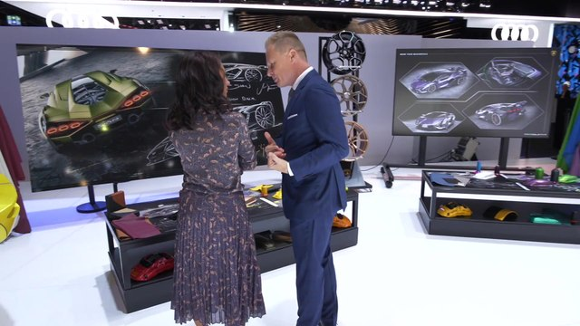 Centro Stile Corner at the 2019 Frankfurt Motor Show