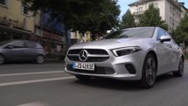Mercedes-Benz A 250 e Sedan in iridium silver Driving Video