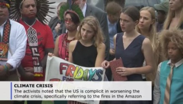 Greta Thunberg, activists urge Congress to act on climate change