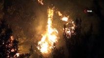 Hatay'da 25 farklı noktadaki orman yangınlarından 24'ü söndürüldü
