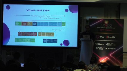 FRNOG 33 - Adrien Delbecq : Scaleway Approach to VXLAN EVPN Fabric