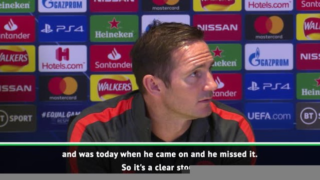Lampard clarifies Chelsea penalty confusion after Barkley miss